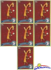 "(7) 2011 Topps Chrome #TRU Geoffrey The Giraffee Toys""R""US Mascot Lot MINT !"