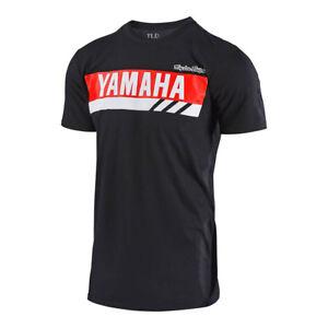 Troy Lee Designs TLD Team Licensed Yamaha RS1 Tee Mens T Shirt Black White Blue