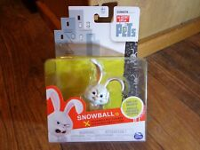 """Spin Master-The Secret Life Of Pets-3"""" Snowball Rabbit Figure (New)"""