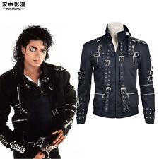 HZYM Coll Original Michael Jackson Bad Cosplay Costume Coat Jacket Custom Made