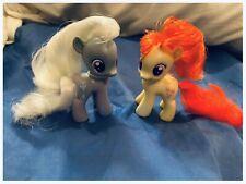 My Little Pony MLP G4 FIM baby CMC Silver Spoon & Twist A Loo RARE