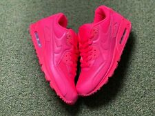 NIKE AIR MAX 90 2013 NIKE ID SOLAR RED UK8.5/US9.5/EU43 WORN ONCE 455686-993