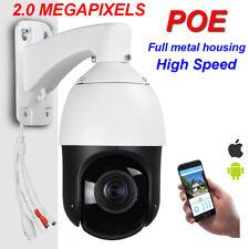 POE SONY322 20X ZOOM HD 1080P 2.0MP Outdoor IP High Speed Dome PTZ Camera IR100m
