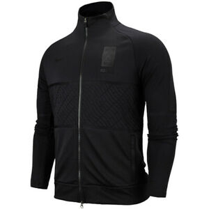 Nike AS Korea Strike Anthem Track Jacket Running Training Top Black CQ9279-010