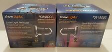 Lot 2 Show Lights Laser Projector Red Green Moving Remote control NEW