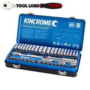 "Kincrome 82 Piece 1/4"" Drive Metric & AF Socket and Bit Set K28003 Hex Torx"