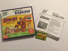 LEAP FROG LEAPSTER EXPLORER JEU SCOOBY-DOO! Pirate G' + box Instruction Complète