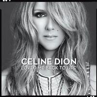 Celine Dion - Loved Me Back To Life CD COLUMBIA