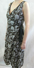 Morrison Size M or 12 Brown Paisley Cotton Sleeveless Dress