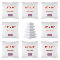Sofa Cushion Pads Inner Inserts Extra Bouncy Fluffy Cushions Square 30 % off RRP