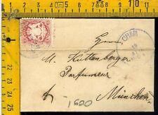 Germania Germany cover envelope Bayern I 600