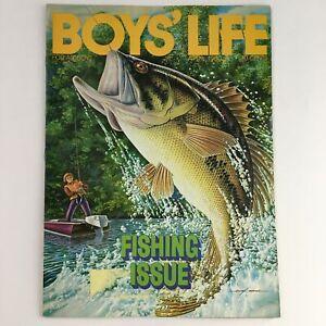 Boys' Life Magazine April 1980 Vintage The Fishing Issue