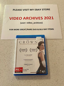 The Crown : Second Season 2 Blu-Ray (4 Disc Set) Brand & New Sealed- Free Post