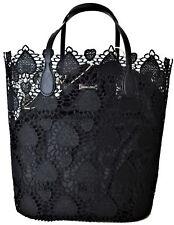 Borsa Mare Sara Lopez Donna Manici Morbidi Nero Sea Bag Woman Black