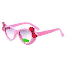 Prettyia Kids Holiday Sunglasses Girls UV400 Cute Bow Eyewear Shades Goggles
