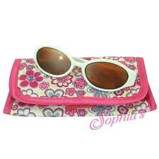 "White Plastic Sunglasses Flower Print Sunglasses Case fit 18"" American Girl Doll"