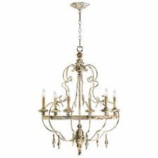 French Country Chateau Davinci 6 Light Chandelier Style ~ 04160 Cyan Design