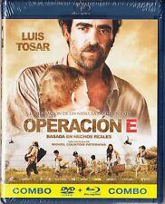 OPERACIÓN E. combo BLU-RAY y DVD Tarifa plana en envío España, 5 €