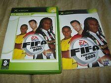FIFA 2003 VERSIONE CLASSIC PAL ITALIANO COMPLETO CONTOVENDITA