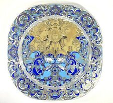 Bjorn Wiinblad Rosenthal The Holy Family Christmas Wall Plate-Crystal 1979
