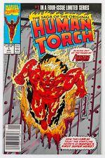 Saga of the Original Human Torch #1 (1990 Marvel) NM