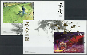 Hong Kong Comics Stamps 2020 MNH Storm Riders Ma Wing-shing Cartoons 2x 1v M/S