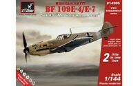 Armory AR 14305- Fighter Messerschmitt Bf 109E Mediterranean TO Aces 1/144 scale