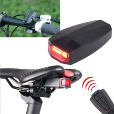 4 in 1 Bicycle Bike Security Lock Wireless Alarm Anti-theft Remote Control