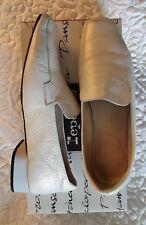 Superbes loafers Repetto vintage cuir grainé nacré 39,5 soit 38,5/39
