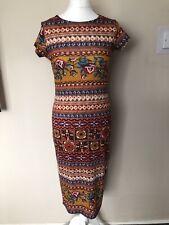 Ladies Headgirl Long Bodycon Dress Size 12