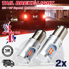 Red Led Bulbs For Ford Focus MK1 MK2 MK3 Tail Light Brake Stop Lamp Super Bright