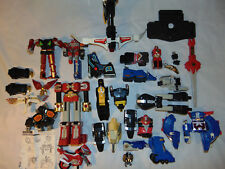 HUGE VINTAGE POWER RANGERS Voltron Sword Gun Pieces Lot Toy Part 94 97 and more