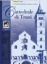 ITALIA 2012  FOLDER DUOMO DI TRANI con LAMINA ARGENTO