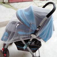 Weiß Buggy Spaziergänger Kinderwagen Kinderbett Moskitonetz Midge  Insektennetz