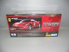 Tamiya 1:10 Ferrari 458 Challenge tt-02 - Art. Nº 300058560-Kit Modèle
