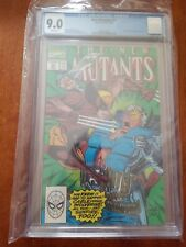 New Mutants #93 (1990) CGC Graded 9.0 ~ Rob Liefeld & Todd McFarlane Cover
