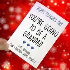Funny Father's Day Card Funny Card For Dad Favourite Child Grandad Joke PC118