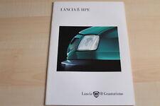87353) Lancia Delta HPE Prospekt 04/1995
