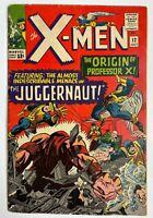 The X-Men #12 - 1st App. Juggernaut Marvel Comics (Q)