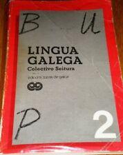 LIBRO DE TEXTO: GALLEGO 2º BUP Ed. Xerais - Curso 1989/90