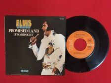 ELVIS PRESLEY IT'S MIDNIGHT PROMISED LAND PB10074 VG VINYLE 45T SP