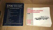 1990 Lincoln Town Car Shop Manuals: Complete Ford Factory Set, Crown Victoria