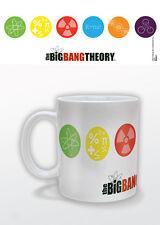 Taza Taza Big Bang Theory símbolos comedia mostrar oficial 11OZ En Caja Nueva De Cerámica