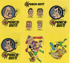 Punch Out sticker-Nintendo NES 1989