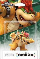 Nintendo Amiibo Bowser Figure Super Smash Bros Wii U 3DS Brand New!!!!!