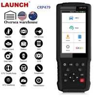 LAUNCH CRP479 OBDII Diagnostic Scanner Oil DPF Reset ABS Bleed Injector Program