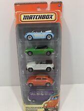 Rare 2010 Volkswagon Classic Matchbox 5 Pack