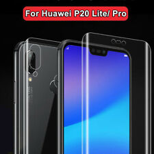 For Huawei P20 Lite Pro 5D Hydrogel film Full Cover Front+Back Screen Protector