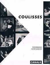 Coulisses   Canal + Xavier lambours 1984