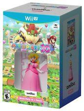 Mario Party 10 + Peach amiibo [Nintendo Wii U Princess Toadstool] NEW